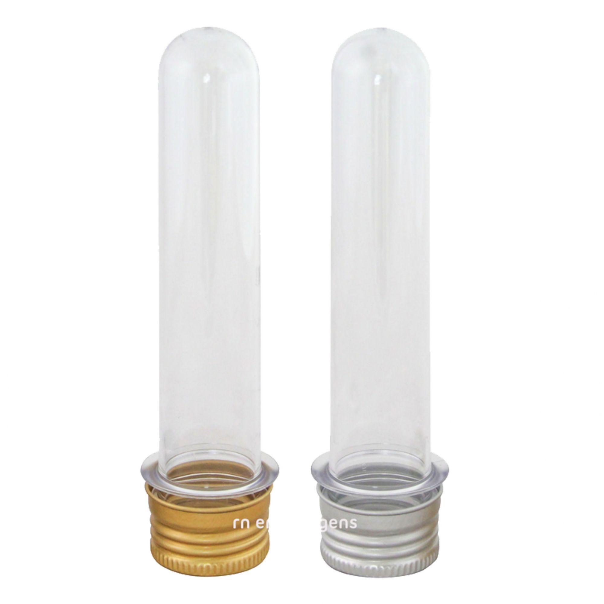 Tubetes Atacado com tampa de Alumínio Kit com 100 unidades