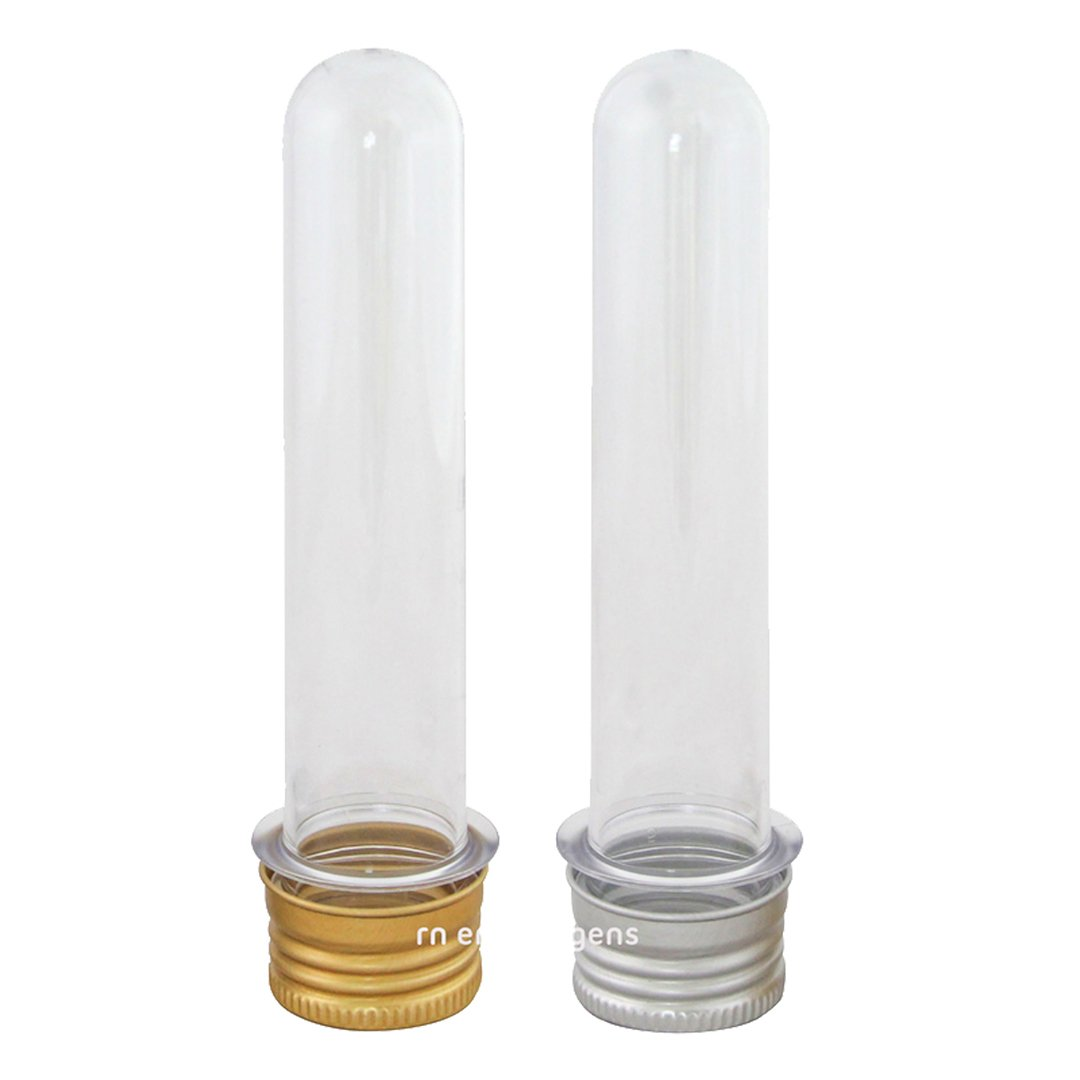 Tubetes para lembrancinha tampa de Metal kit com 10 unid.