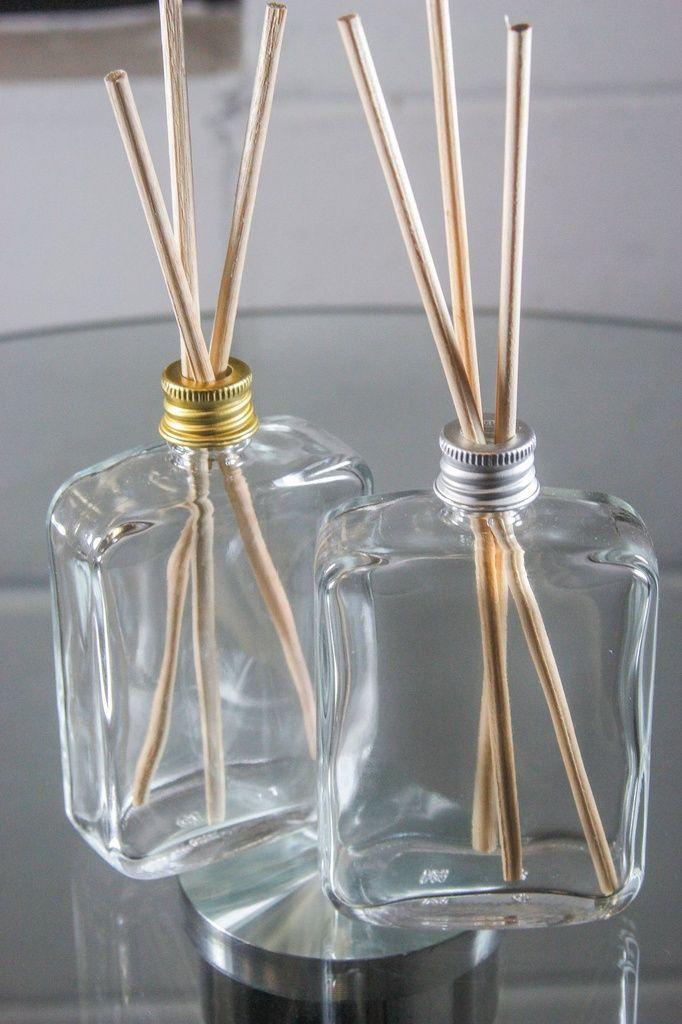 Vidro para Aromatizador 100 ml Fino kit com 10 unid
