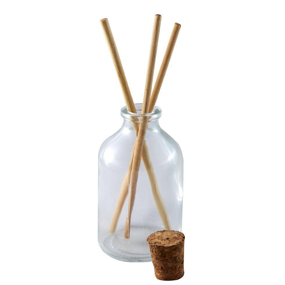Vidro para Aromatizador com Rolha 50 ml kit com 15 unid