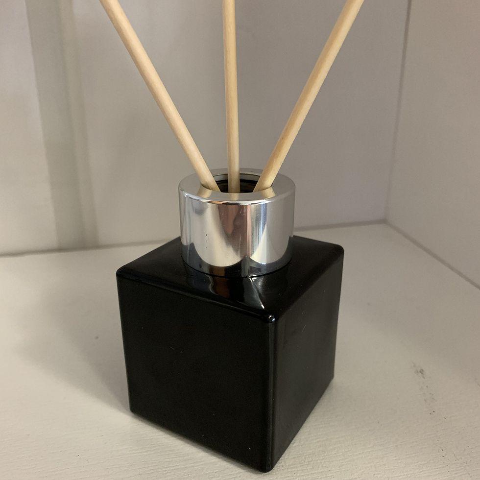 Vidro para Aromatizador e Difusor de 50 ml Preto
