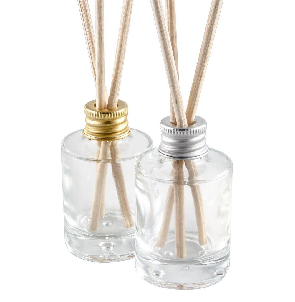 15 Vidros para Difusor Aromatizador 30 ml Cilíndrico com Varetas