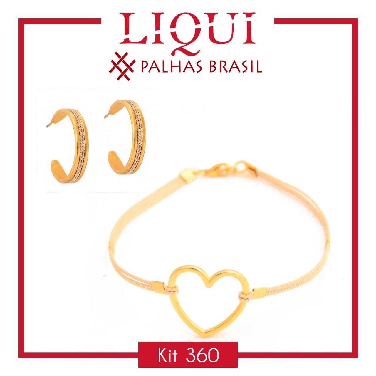 KIT360 - KIT PROMOCIONAL EM PALHA DE BURITI
