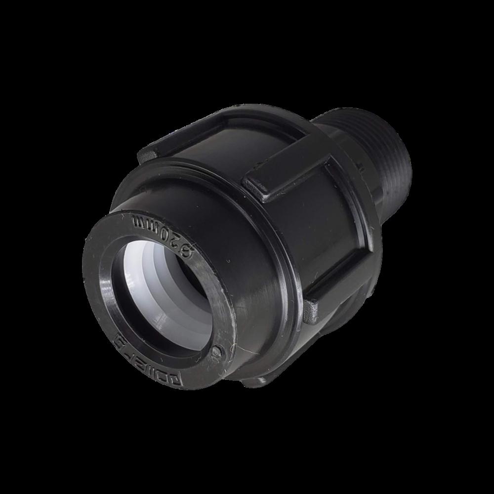 Adaptador de Compressão PP para PEAD RM de 20mm x 3/4''