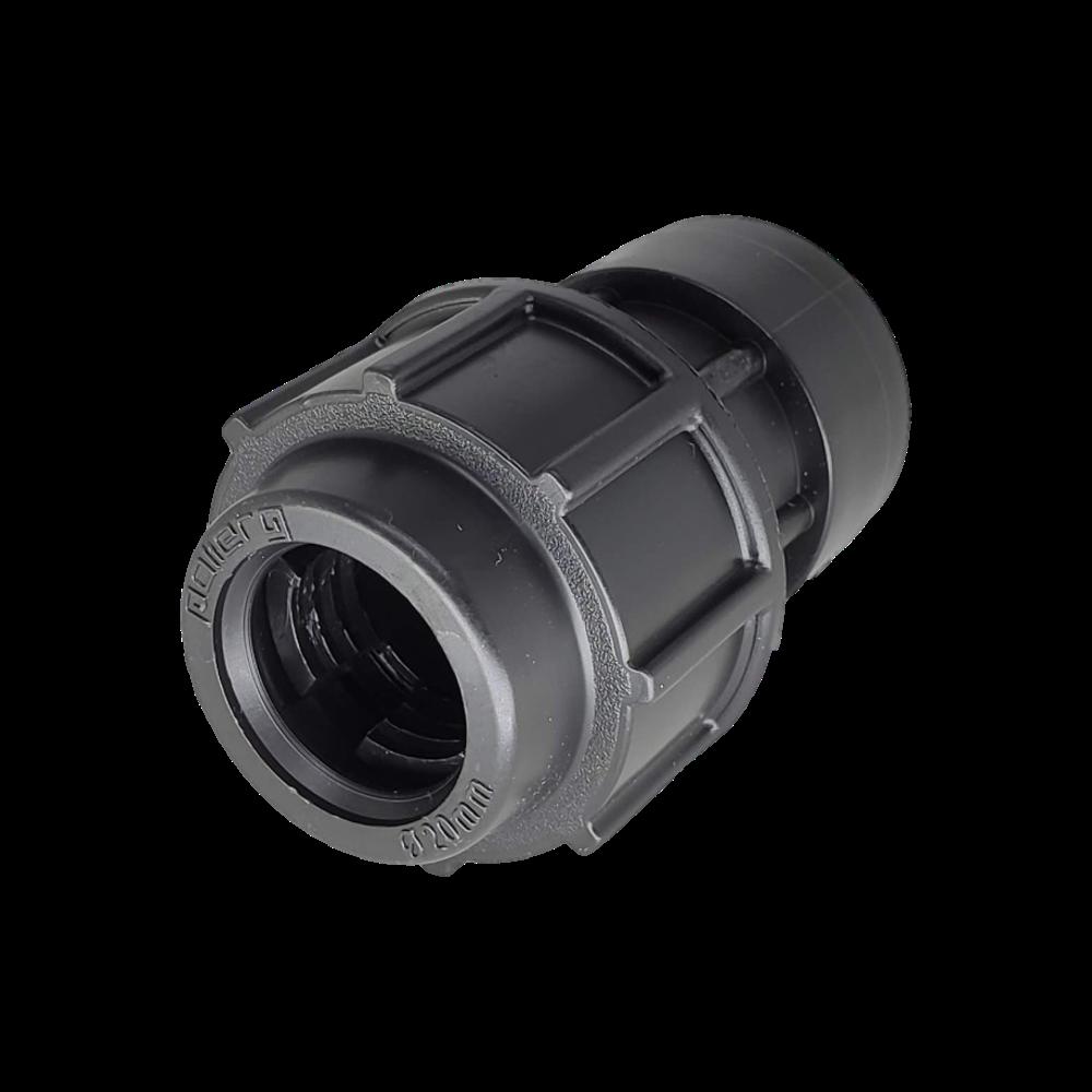 Adaptador de Compressão PP x PEAD RF de 32mm x 1'' (Kit 2pç)