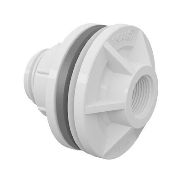 Adaptador PVC Roscável para Caixa D' água de 1.1/4 Polegada Tigre