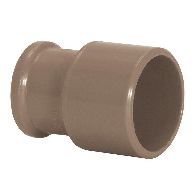 Bucha de Redução PVC Solda Longa de 75mm X 50mm