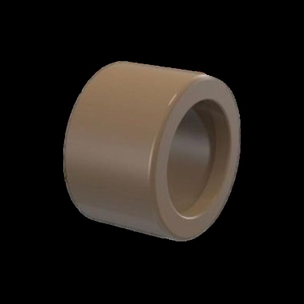 Bucha de Redução PVC Solda Rosca Curta de 75mm x 60mm