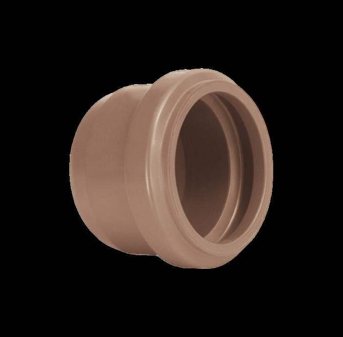 Cap PVC PBA de 110mm com Anel