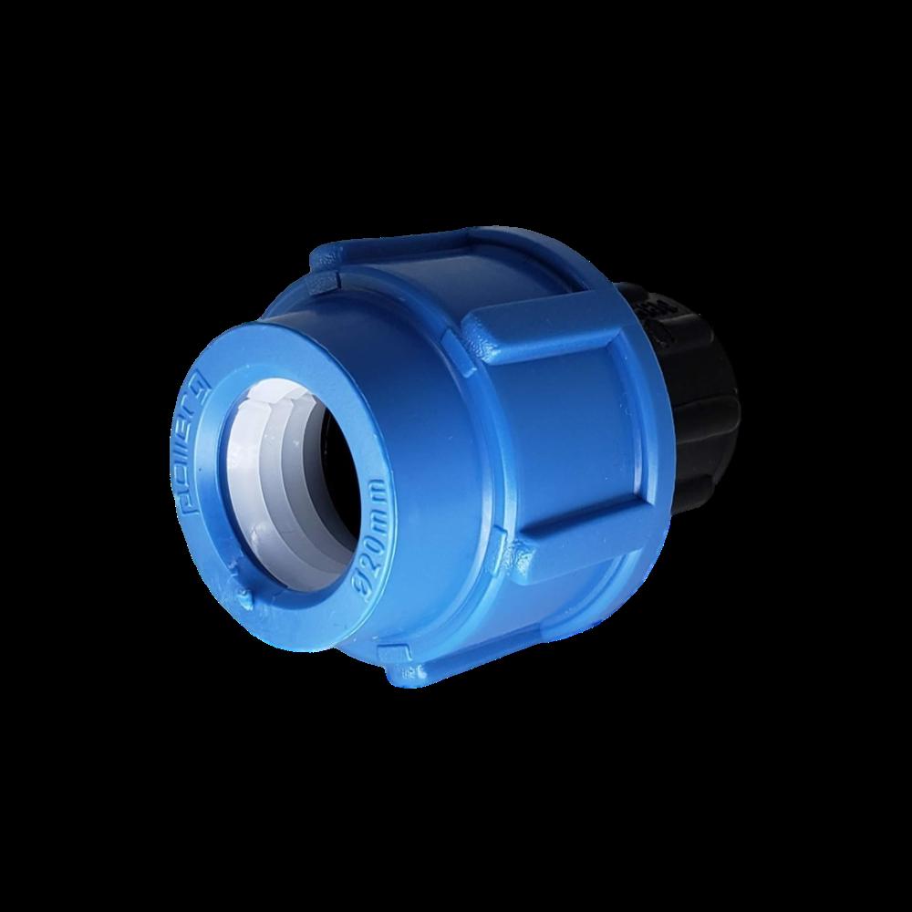 Cap Tampão de Compressão Polipropileno para PEAD de 20mm