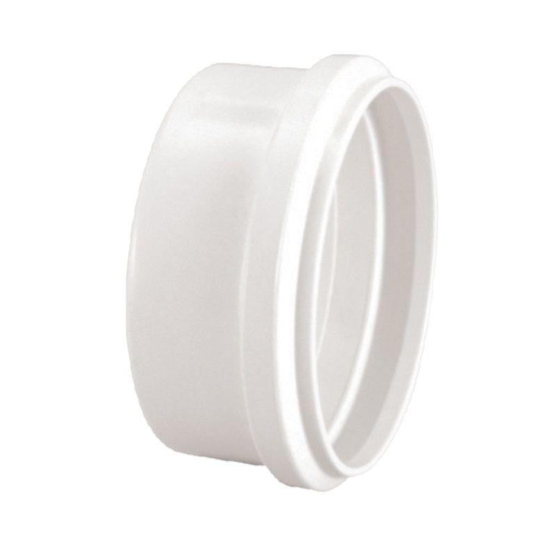 Cap Tampão PVC Esgoto Branco de 200mm (2pçs)