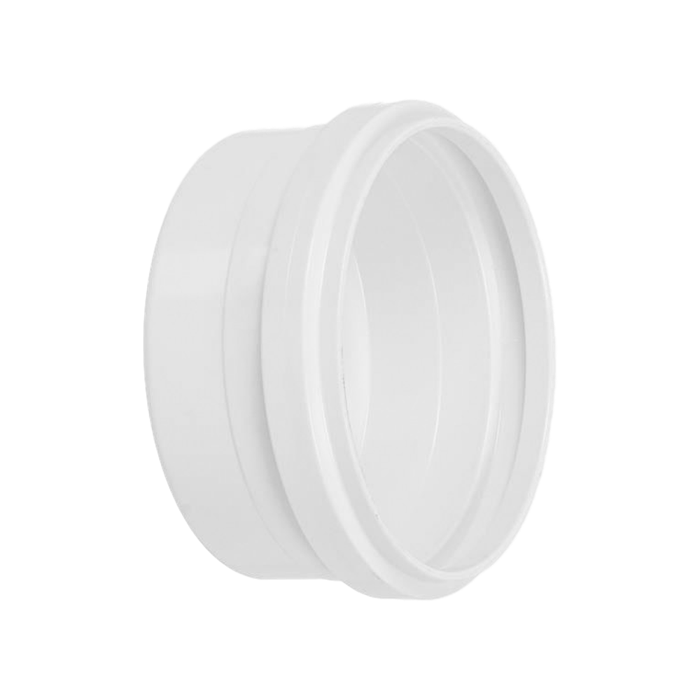 Cap Tampão PVC Esgoto Branco de 75mm (KIT 3pçs)
