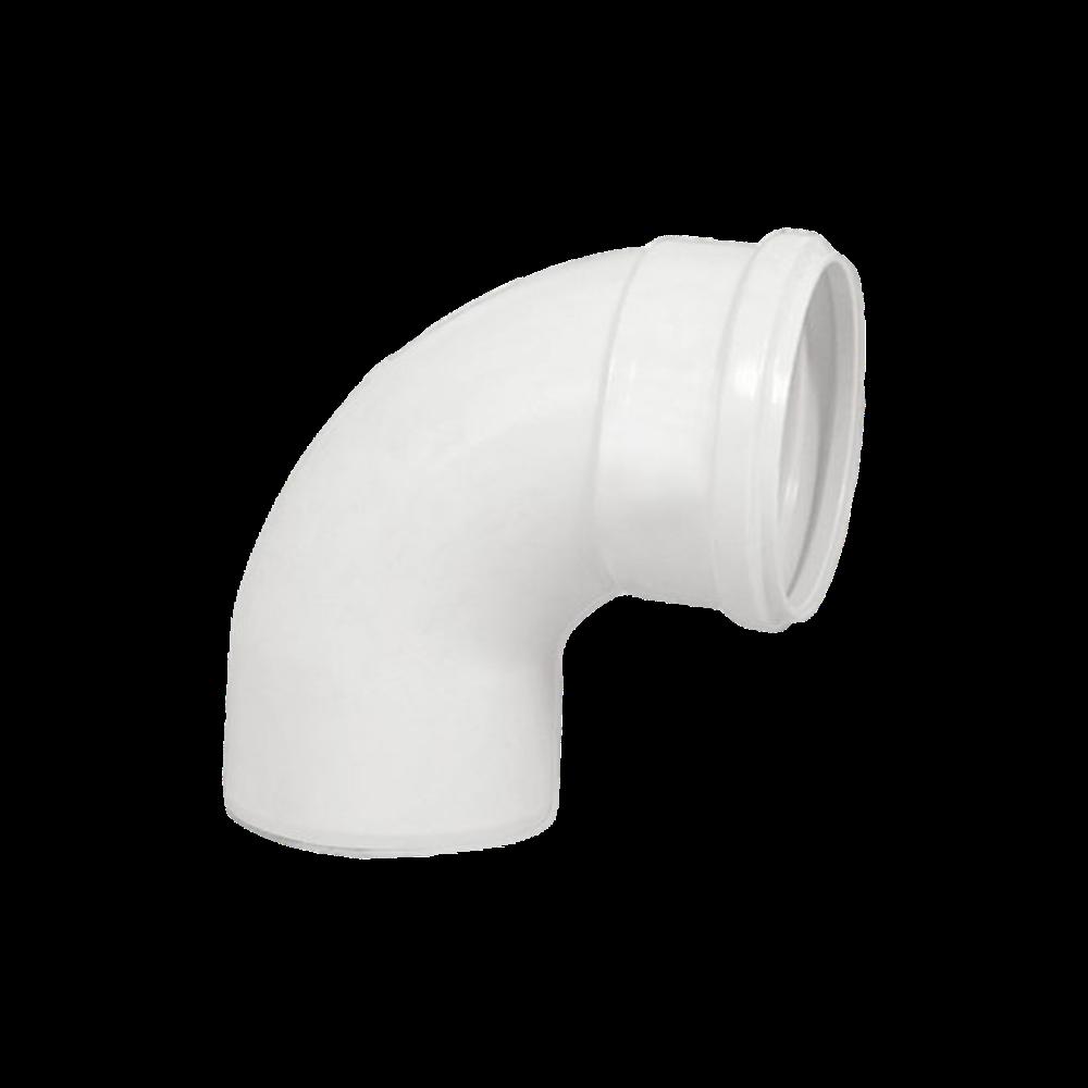 Curva PVC Esgoto Curta de 75mm x 90º