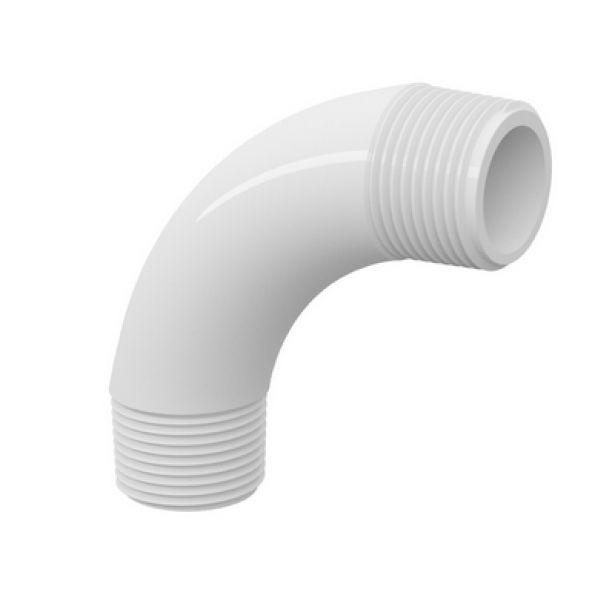 Curva PVC Roscável de 1.1/2 Polegada x 90º