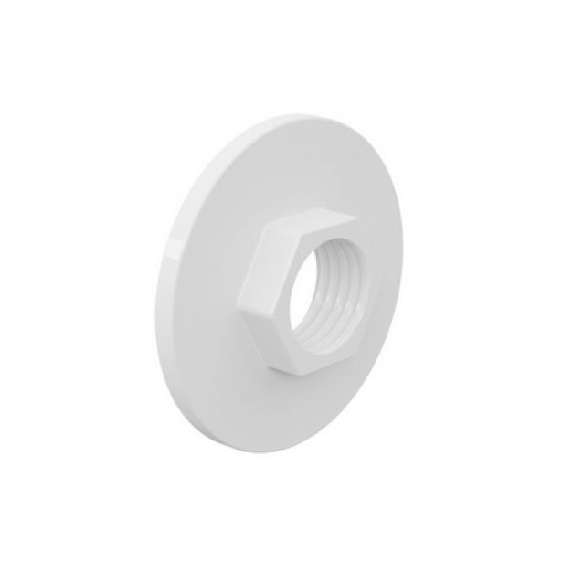Flange PVC Roscável Sextavado de 1'' Tigre (Kit 2pçs)