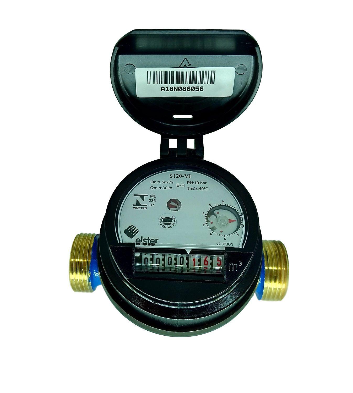 Hidrômetro Medidor de Água Unijato 1/2'' 3,0m³/h (10pçs)
