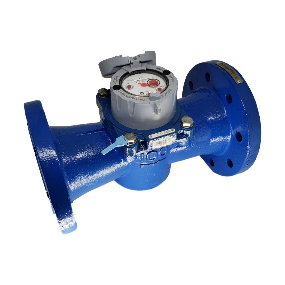 Hidrômetro Medidor de Água Woltmann Axial 120m³/h de 4''