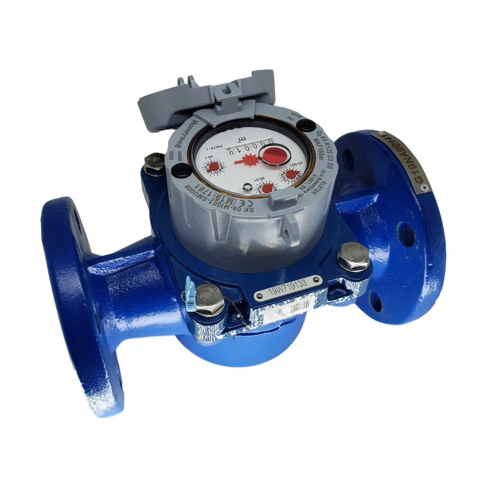 Hidrômetro Medidor de Água Woltmann Axial 80m³/h de 3''