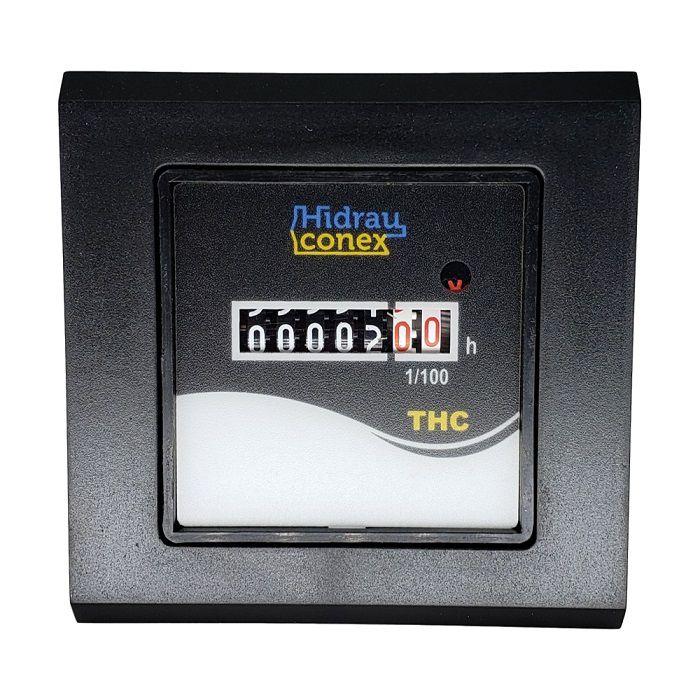 Horímetro Totalizador de Horas Eletromecânico THC 220vca