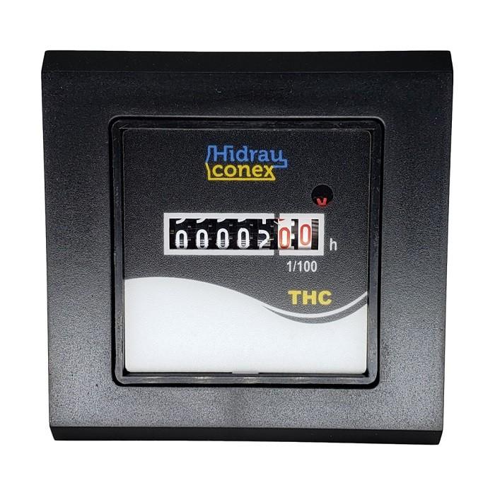 Horímetro Totalizador de Horas Eletromecânico THC 24vca