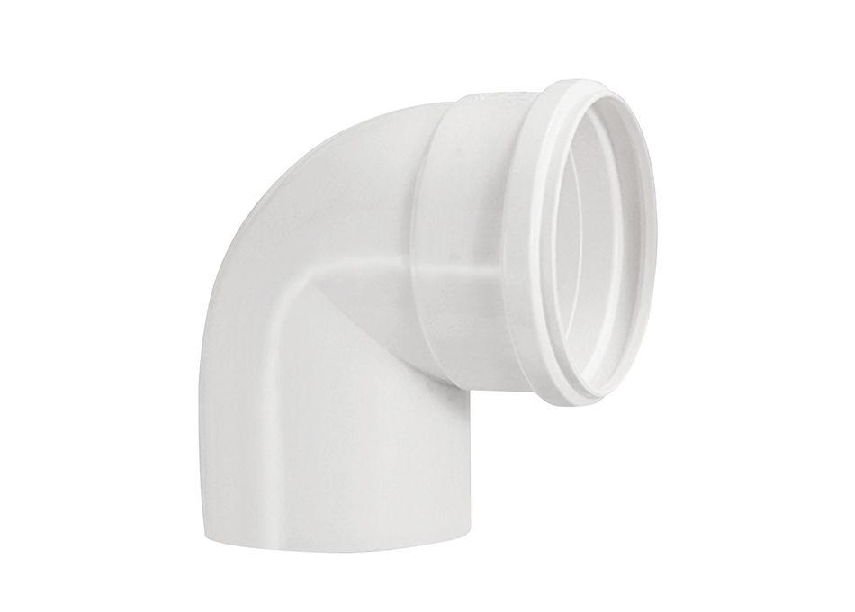 Joelho Cotovelo PVC Esgoto Branco DN 50mm x 90º (kit 10pçs)