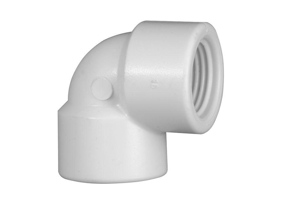 Joelho Cotovelo PVC Roscável de 1.1/4 Polegada x 90º