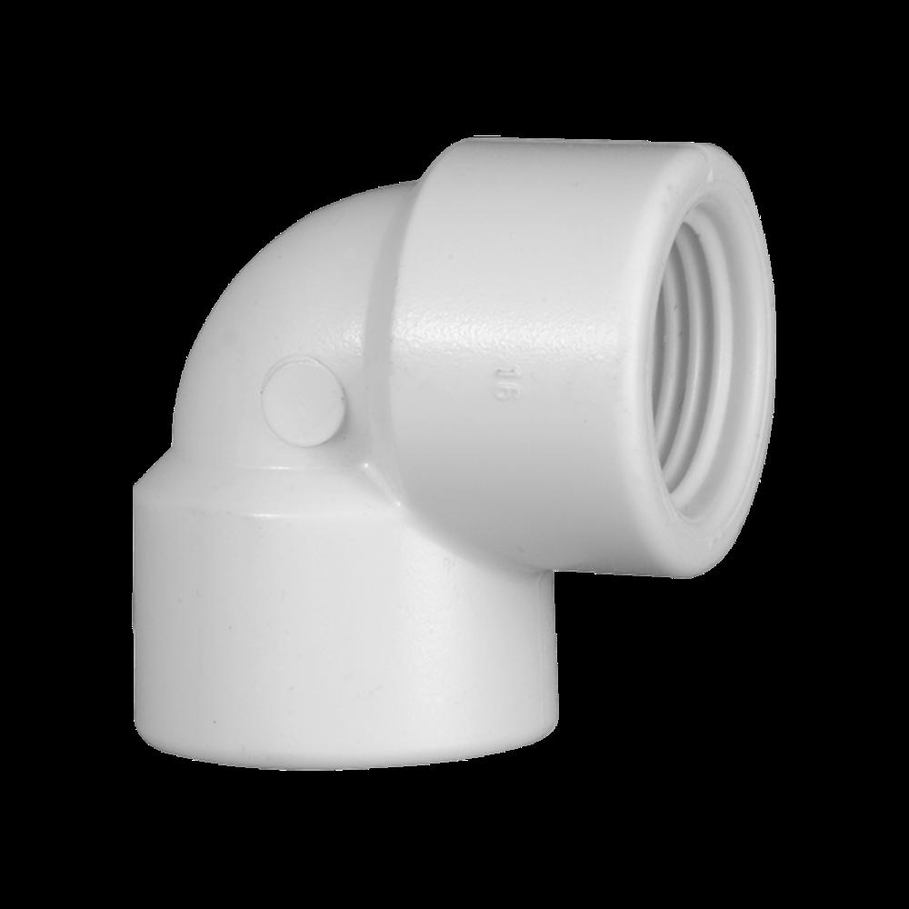 Joelho Cotovelo PVC Roscável de 3 Polegadas x 90º