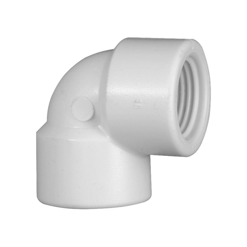 Joelho Cotovelo PVC Roscável de 4 Polegadas x 90º