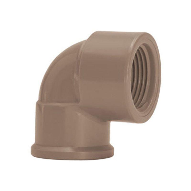 Joelho Cotovelo PVC Solda Rosca de 20mm x 1/2''