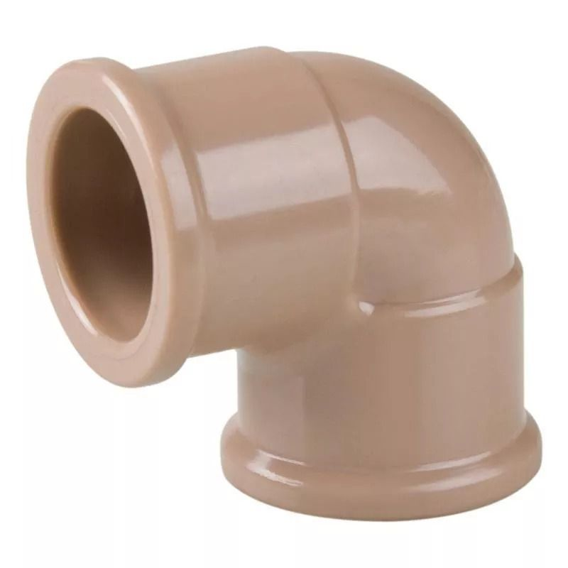 Joelho Cotovelo PVC Soldável de 50mm x 90°
