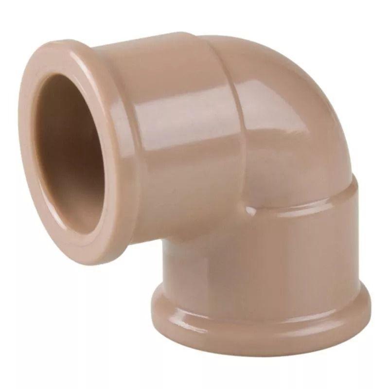 Joelho Cotovelo PVC Soldável de 75mm x 90°
