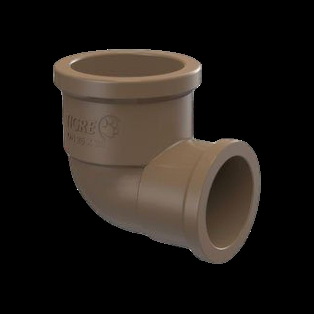 Joelho PVC Soldável com Redução de 25mm X 20mm