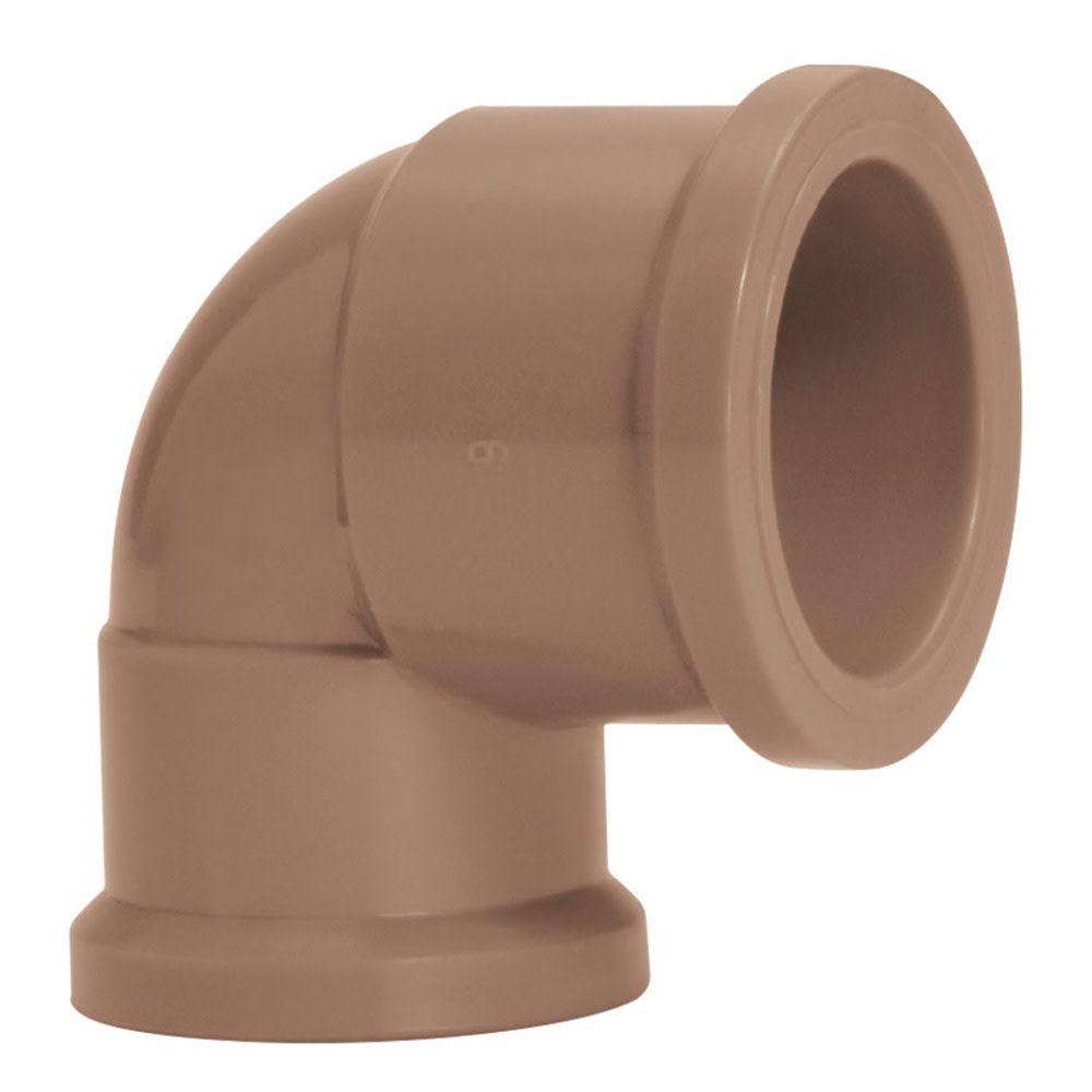 Joelho PVC Soldável com Redução de 32mm X 25mm