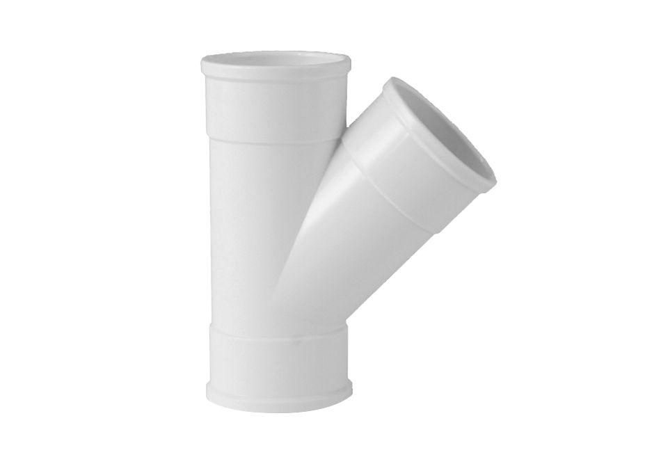 Junção Y PVC Esgoto de 40mm