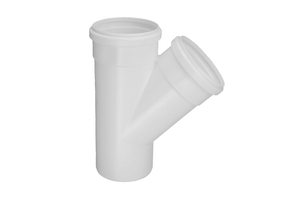 Junção Y PVC Esgoto de 50mm