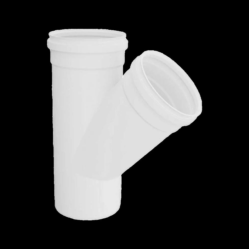 Junção Y PVC Esgoto de 75mm