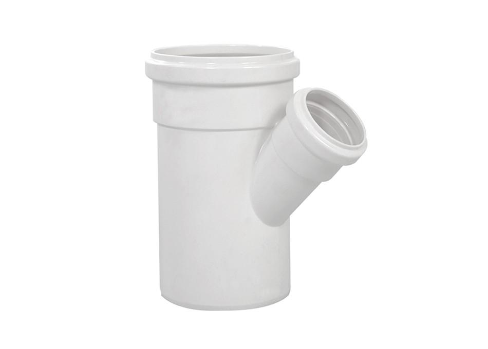 Junção Y PVC Esgoto de Redução 75mm x 50mm
