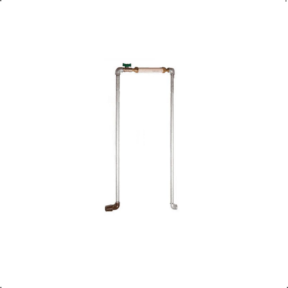 Kit Cavalete Galvanizado de 1/2'' Padrão Copasa 1m x 1m