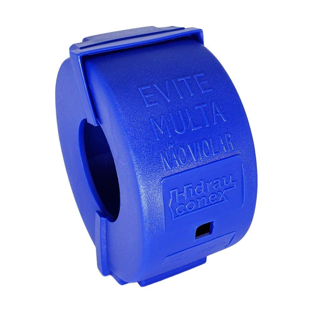 Lacre Anti-fraude Azul Para Hidrômetro de 1/2 Polegada