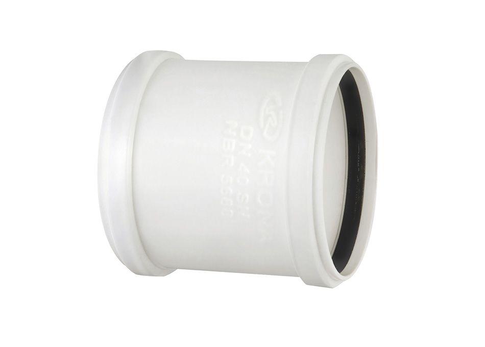 Luva de corre PVC Esgoto de 50mm com Anel