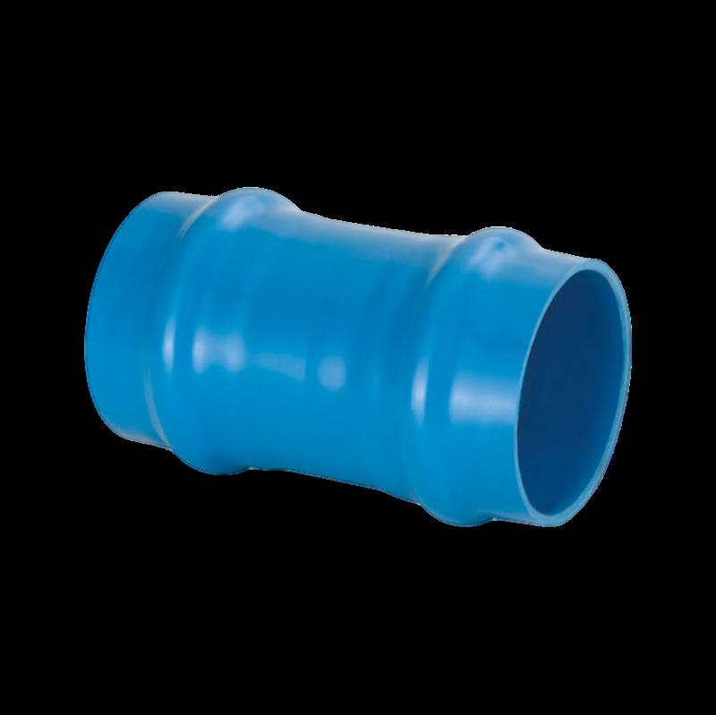 Luva de Correr PVC Defofo JEI de 150mm com Anel