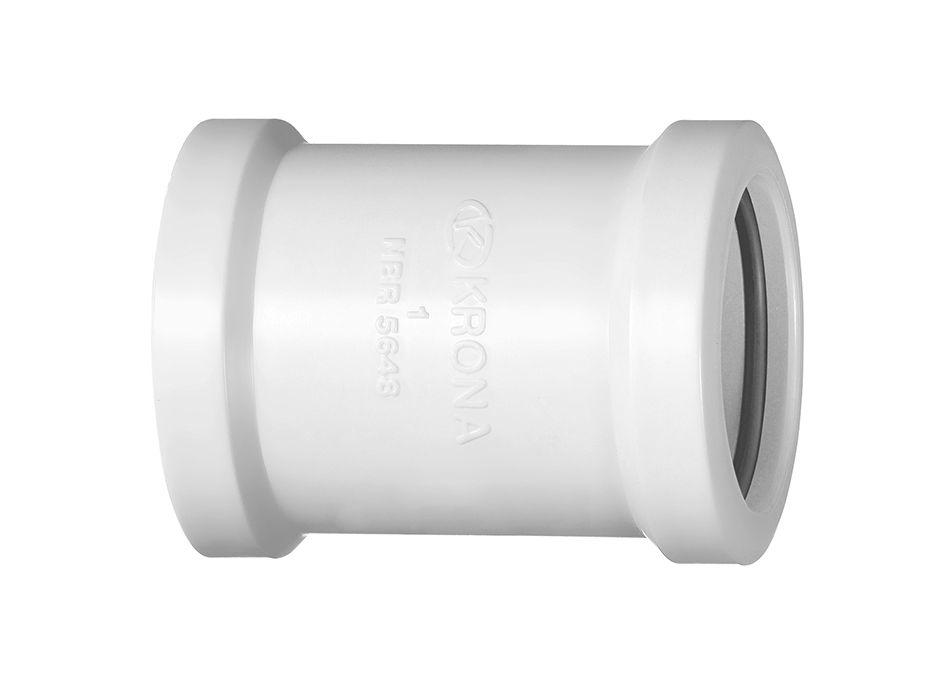 Luva de Correr PVC para Tubo Roscável de 1.1/2''