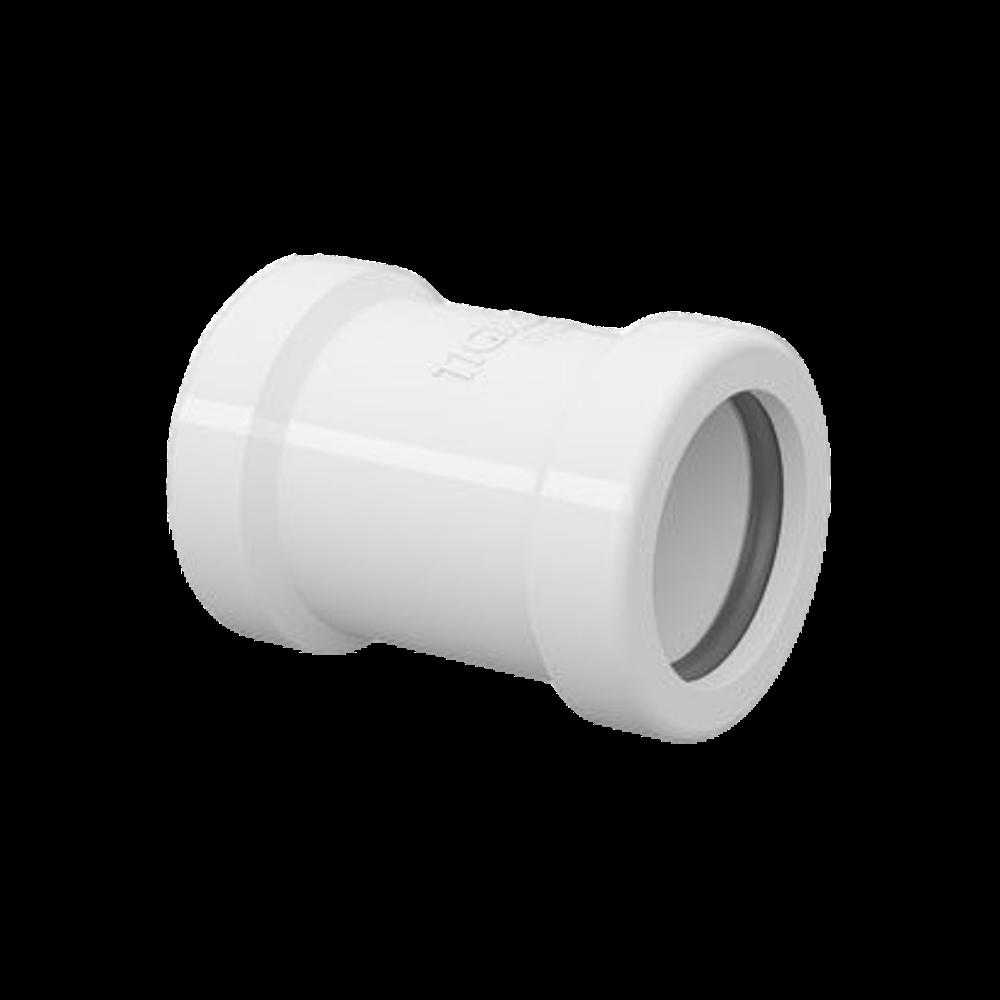 Luva de Correr PVC para Tubo Roscável de 1/2 Polegada