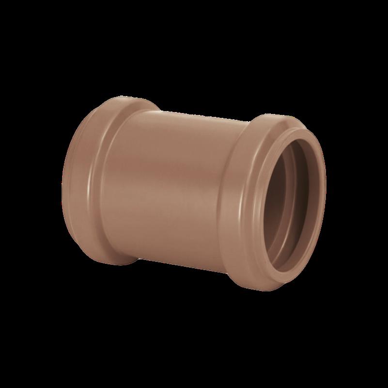 Luva de Correr PVC PBA de 75mm com Anel