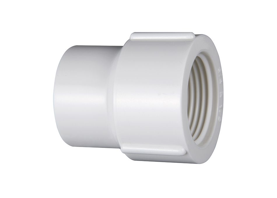 Luva PVC Roscável de Redução de 3/4 X 1/2 Poleg. (Kit 10pçs)