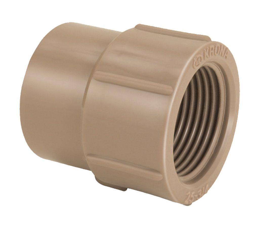Luva PVC Solda Rosca LR de 50mm x 1.1/2''