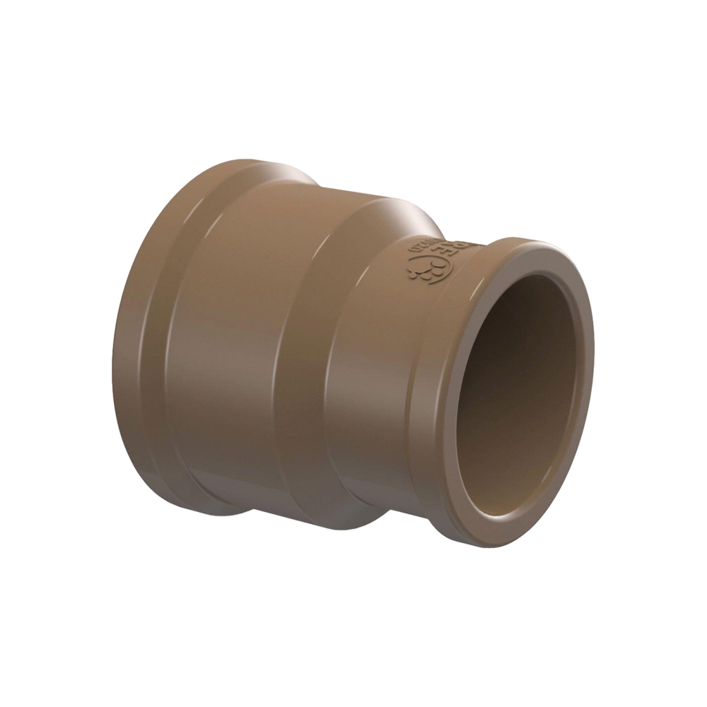 Luva PVC Soldável Cola com Redução 32mm X 25mm Kit (7pçs)