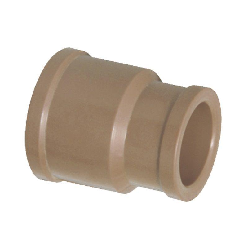 Luva PVC Soldável com Redução de 50mm x 25mm