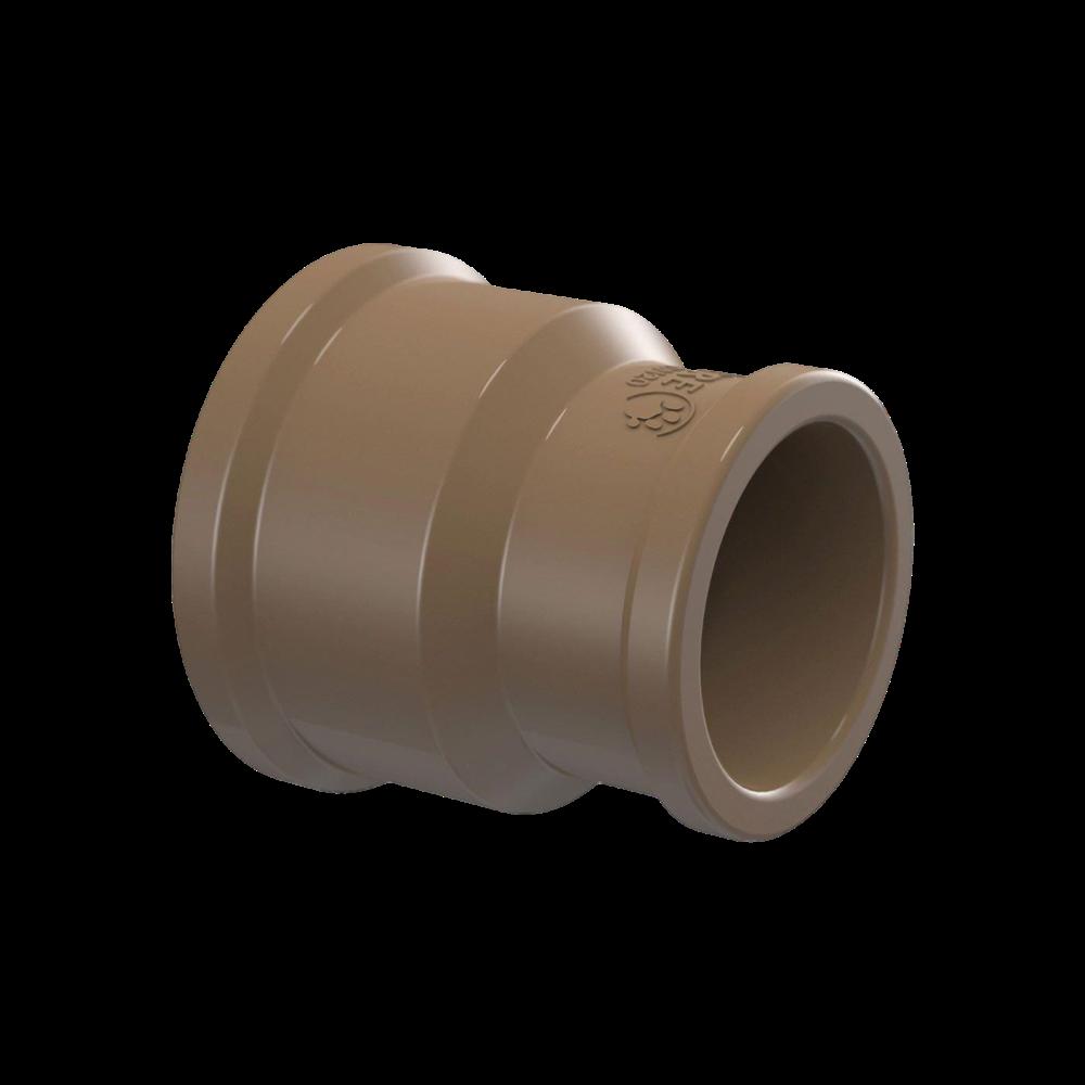 Luva PVC Soldável com Redução de 60mm x 50mm