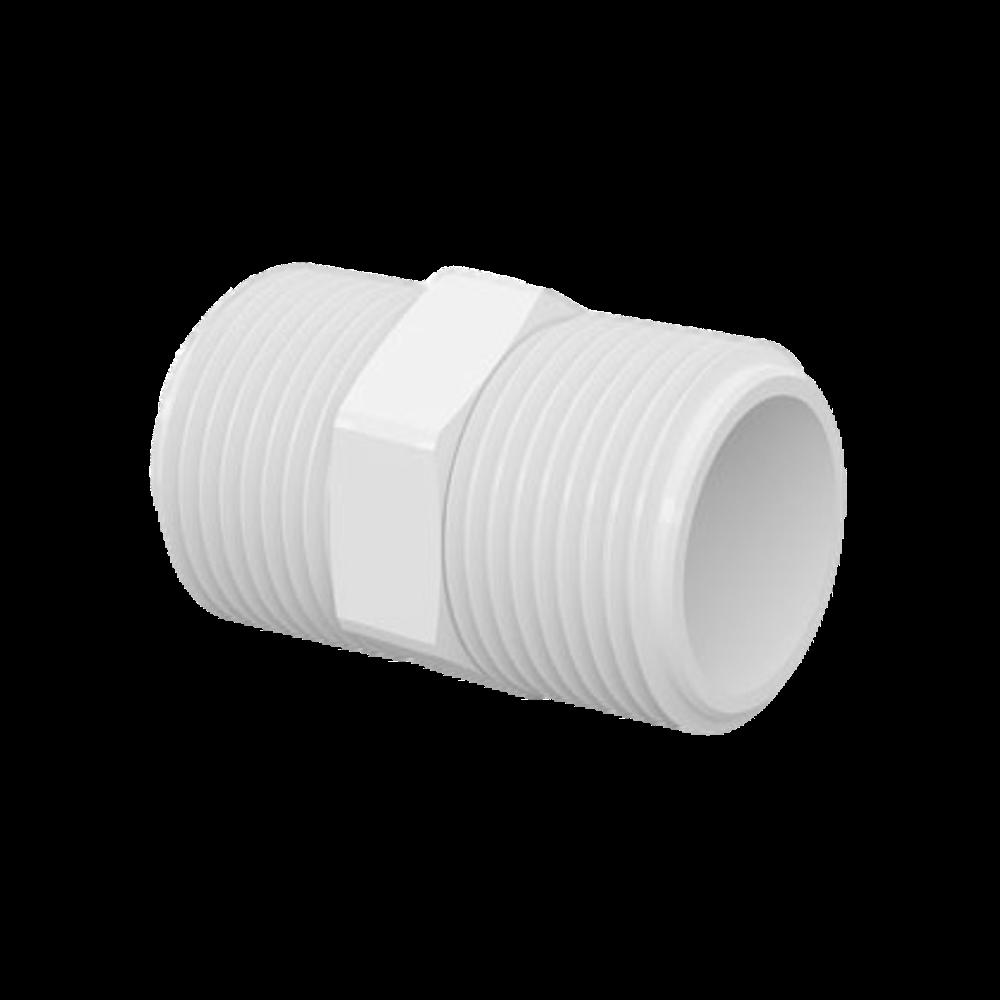 Nipel PVC Roscável de 2.1/2 Polegadas